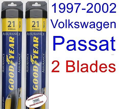 1997 – 2002 VOLKSWAGEN PASSAT hoja de limpiaparabrisas de repuesto Set/Kit (Goodyear limpiaparabrisas