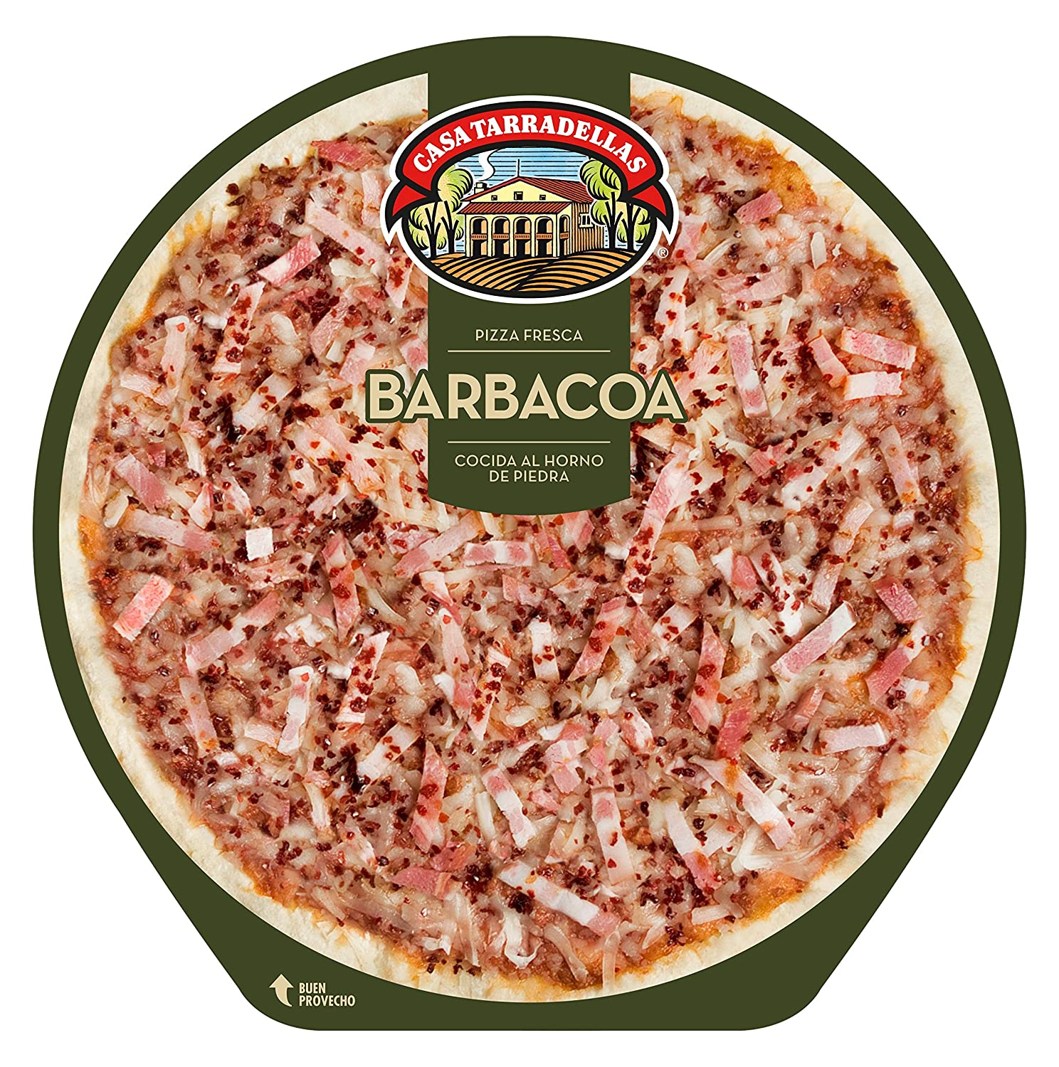 Casa Tarradellas - Pizza Fresca Barbacoa, 400 g: Amazon.es ...