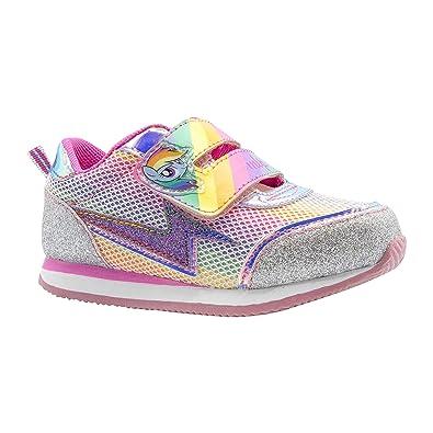 f73d06bbe6eed My Little Pony Rainbow Dash Rainbow Silver Glitter Sneaker