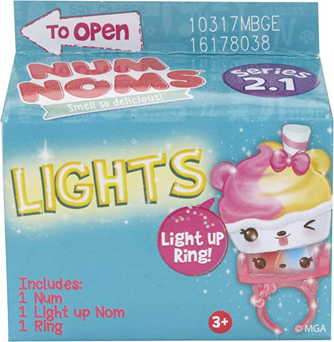NUM NOMS LIGHTS Series 2.2  Scented Blind Box NEW