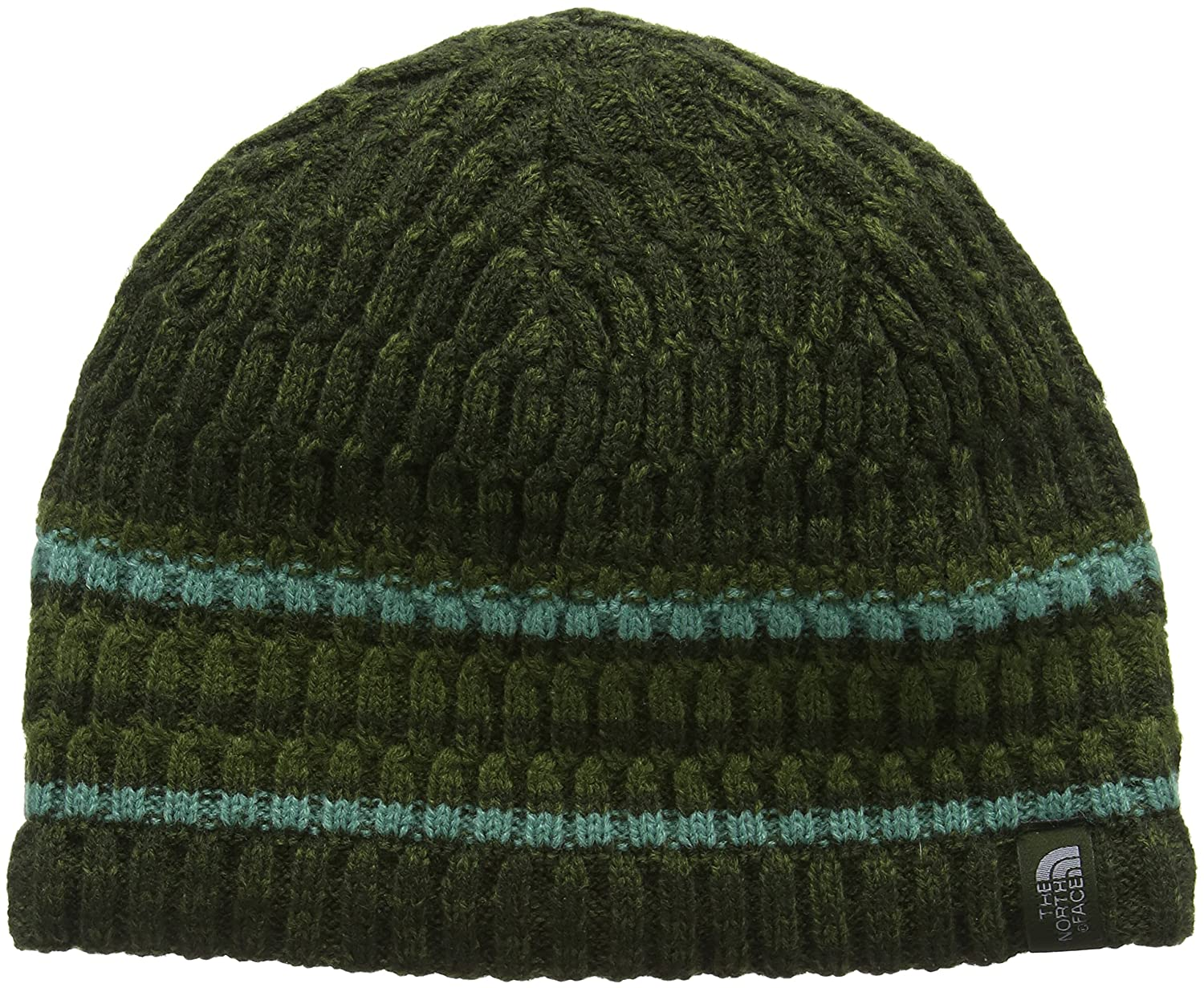 6dae1ced4d852 North Face the Blues Beanie, Green/Turquoise/Grey/Rosin Green, One Size:  Amazon.co.uk: Sports & Outdoors