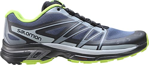 Details about Salomon X Scream 3D Mens Size 9.5 Trail Running Shoes Hiking Blue Black Gray