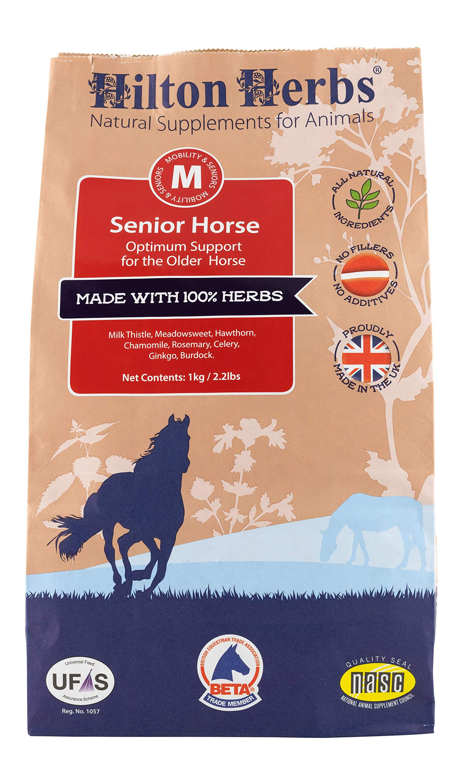 Senior Horse: Total Support for Older Horses & Ponies by Hilton Herbs