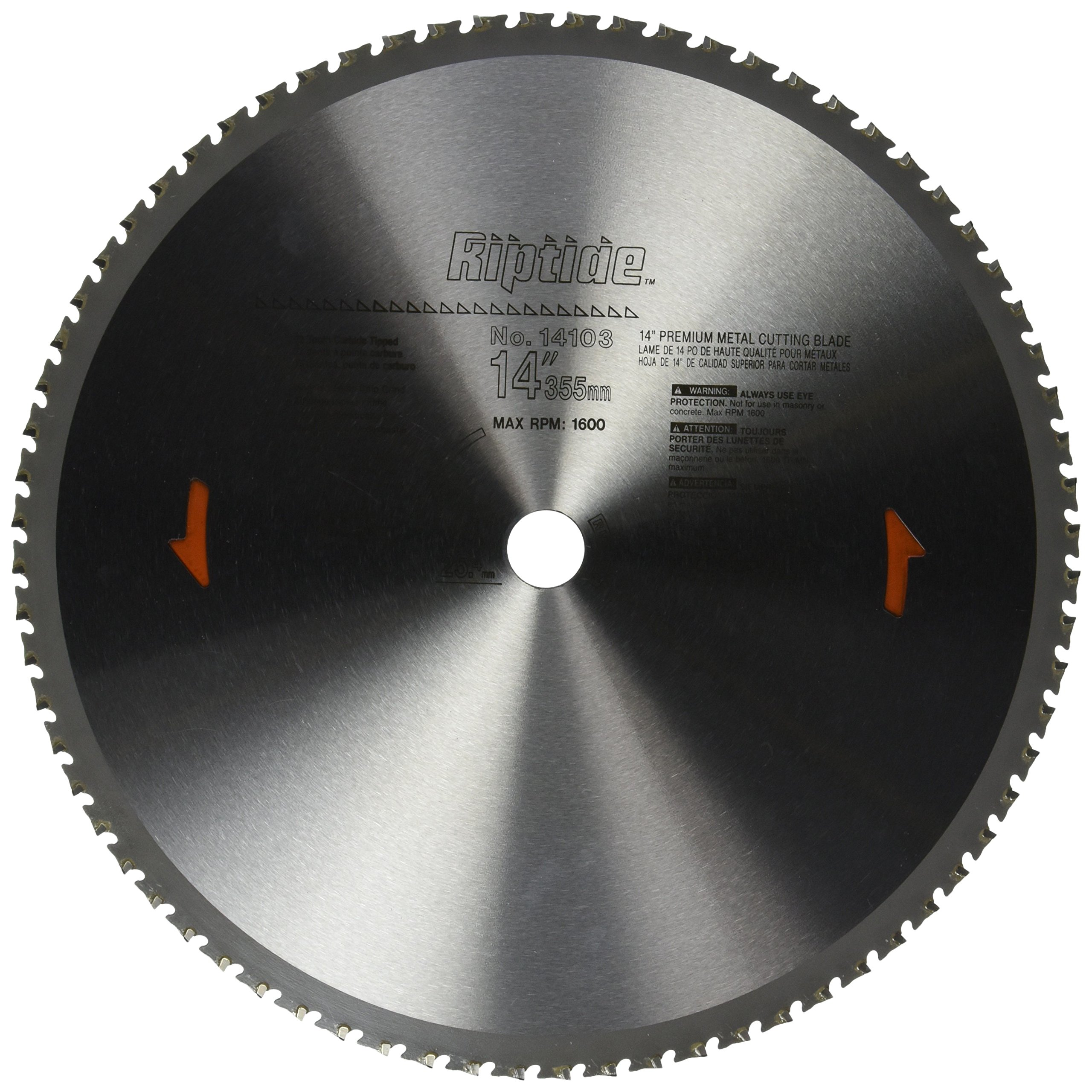 PORTER-CABLE 14103 14-Inch 72 Tooth Metal Cutting Saw Blade with 1-Inch Arbor by PORTER-CABLE