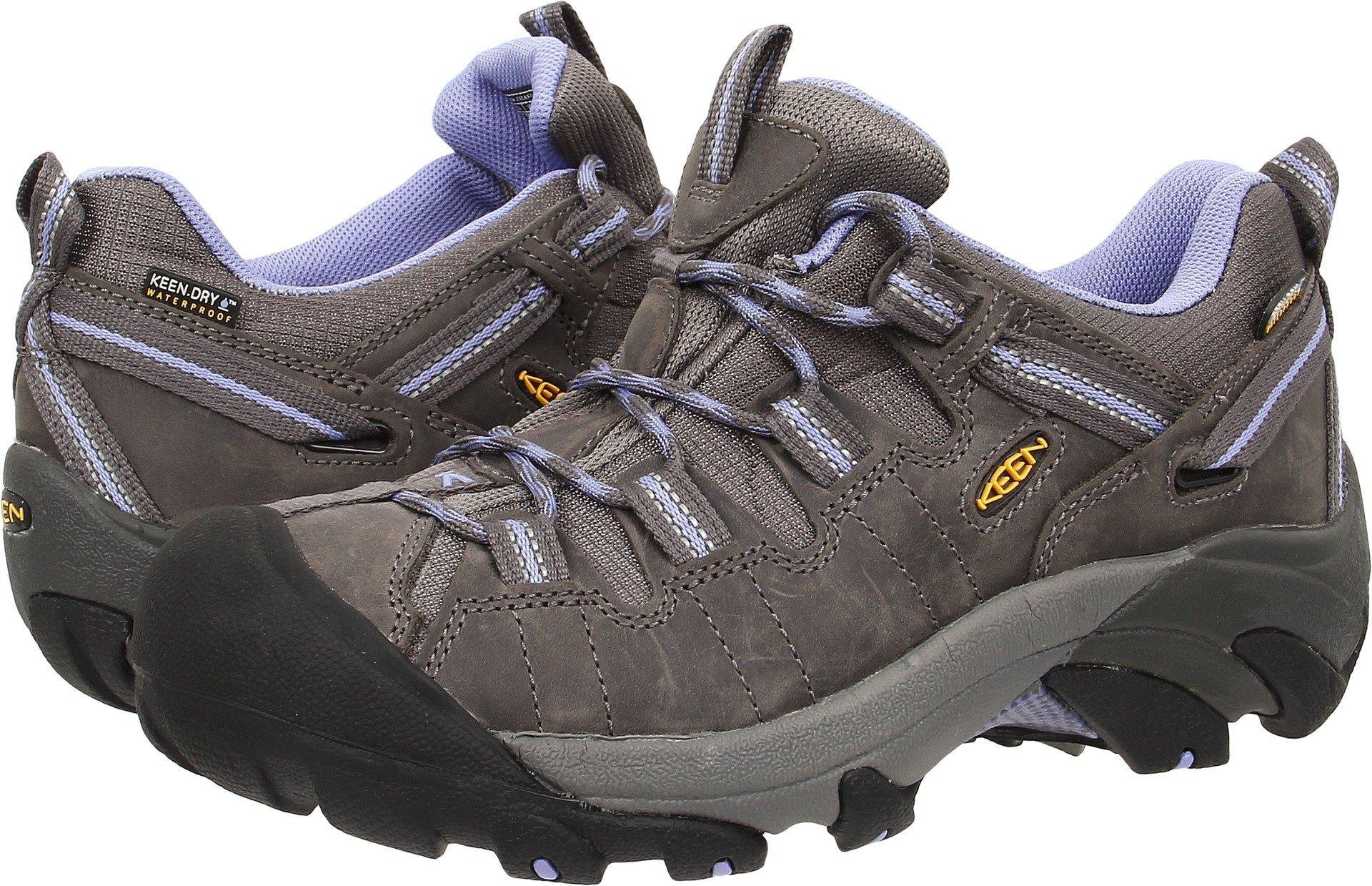 KEEN Women's Targhee II Outdoor Shoe, Magnet/Periwinkle, 6.5 M US