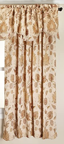 Stylemaster Melbourne Curtain Panel, 52 X 84 , Ivory