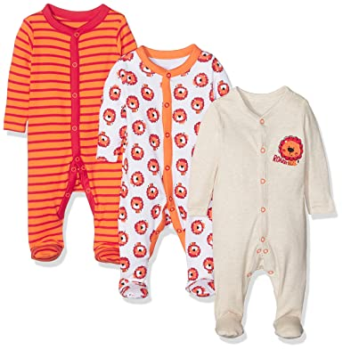 54d8b307b1fe Little Lion Sleepsuits - 3 Pack
