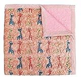 J-pinno Colorful Giraffe Reversible Bedding