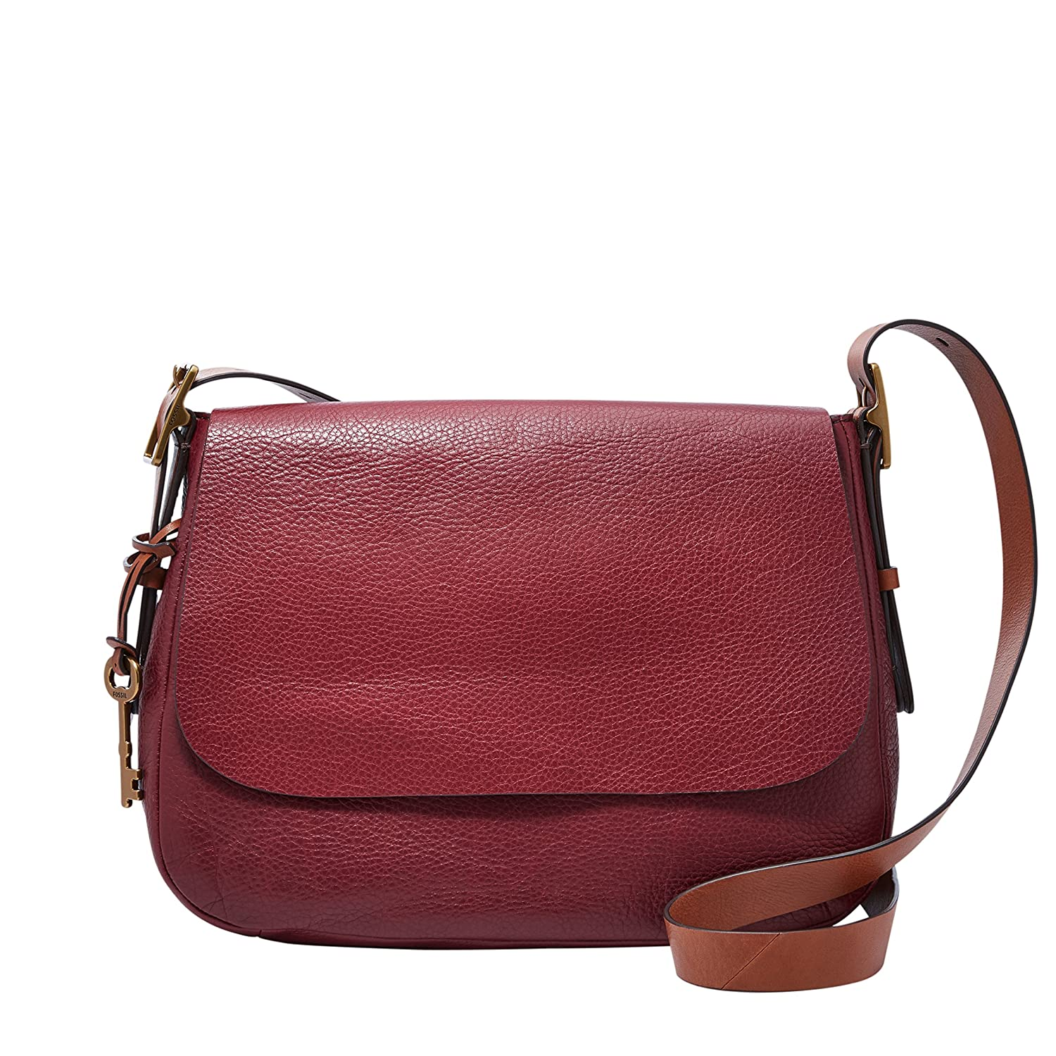 ce6b39a7e0 FOSSIL Harper Large Crossbody Wine: Amazon.fr: Chaussures et Sacs