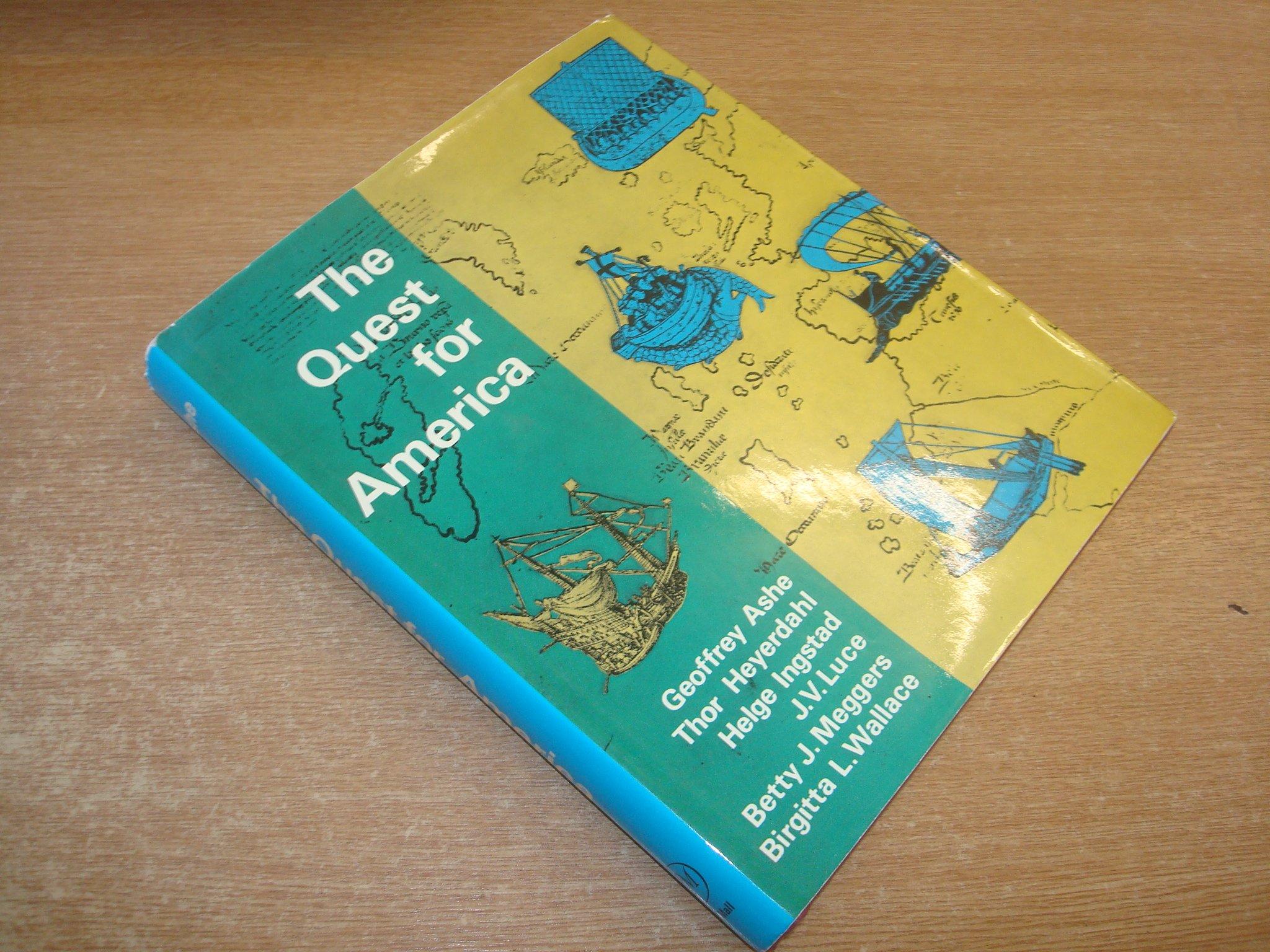 Quest for America: Amazon.co.uk: Geoffrey Ashe: 9780269027871: Books