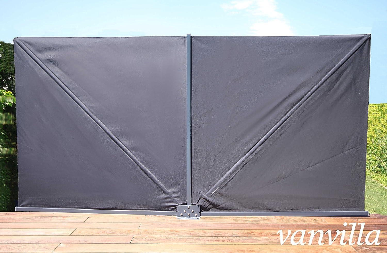 Amazon De Vanvilla Sichtschutzfacher Klappbar Balkon Sichtschutz