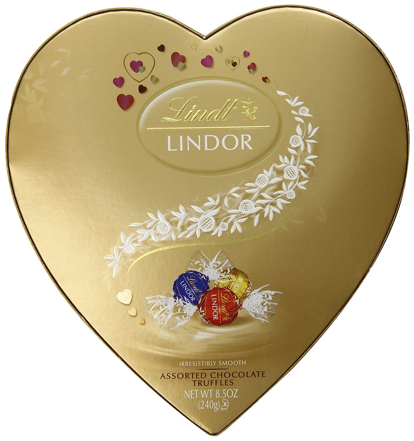 Lindt Valentine Gift Box, Classic Assorted Chocolates, 6.2 Ounce ...