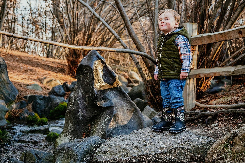 LONECONE Kids/' All-Weather Neoprene Mud Boots Rain Snow Muck