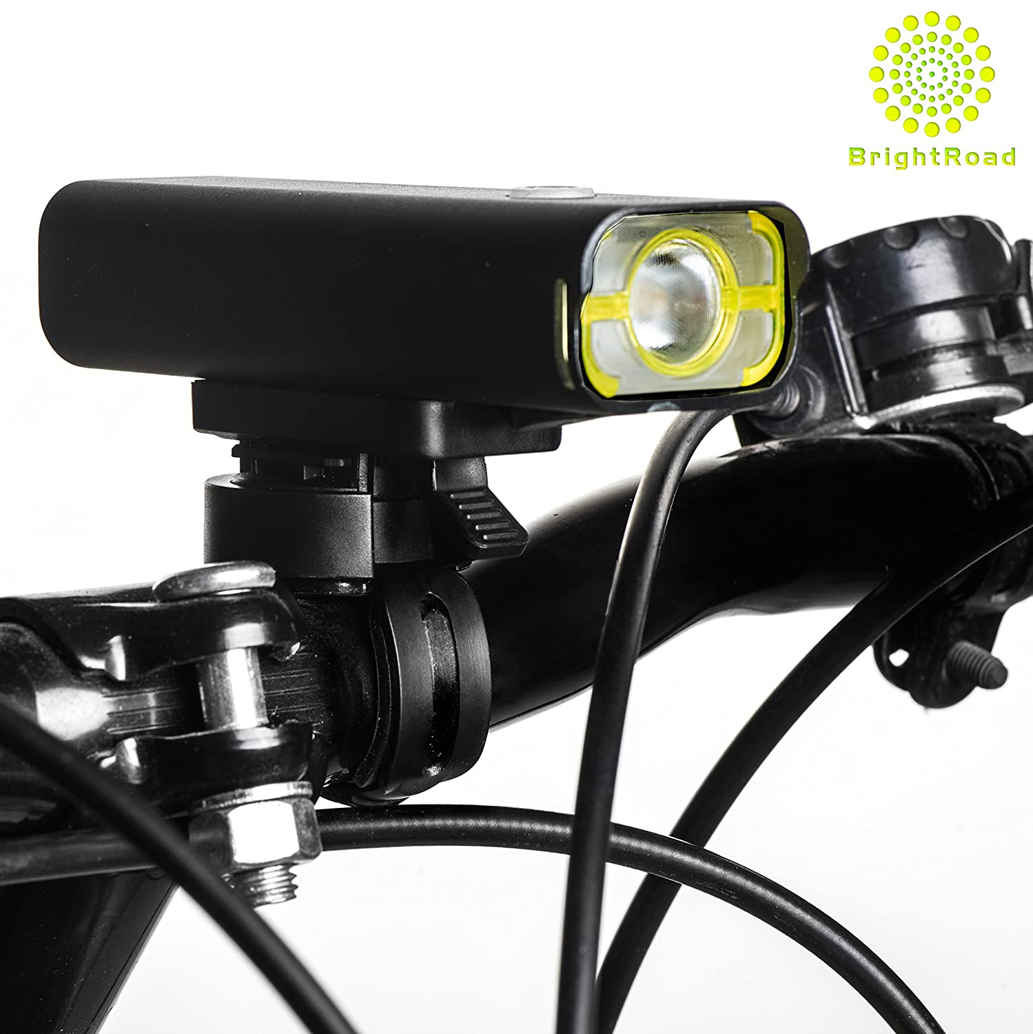 USB Rechargeable Bicycle Light with 650 ft Visibility 85/° Light Angle IPX6 Waterproof Lights for Cycling BR-800 BrightRoad 800 Lumens LED Bike Headlight with 360/° Rotation 5 Modes Flashlight