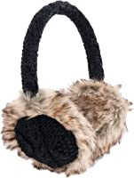 Nirvanna Designs EA03 Cable Earmuffs with Faux Fur