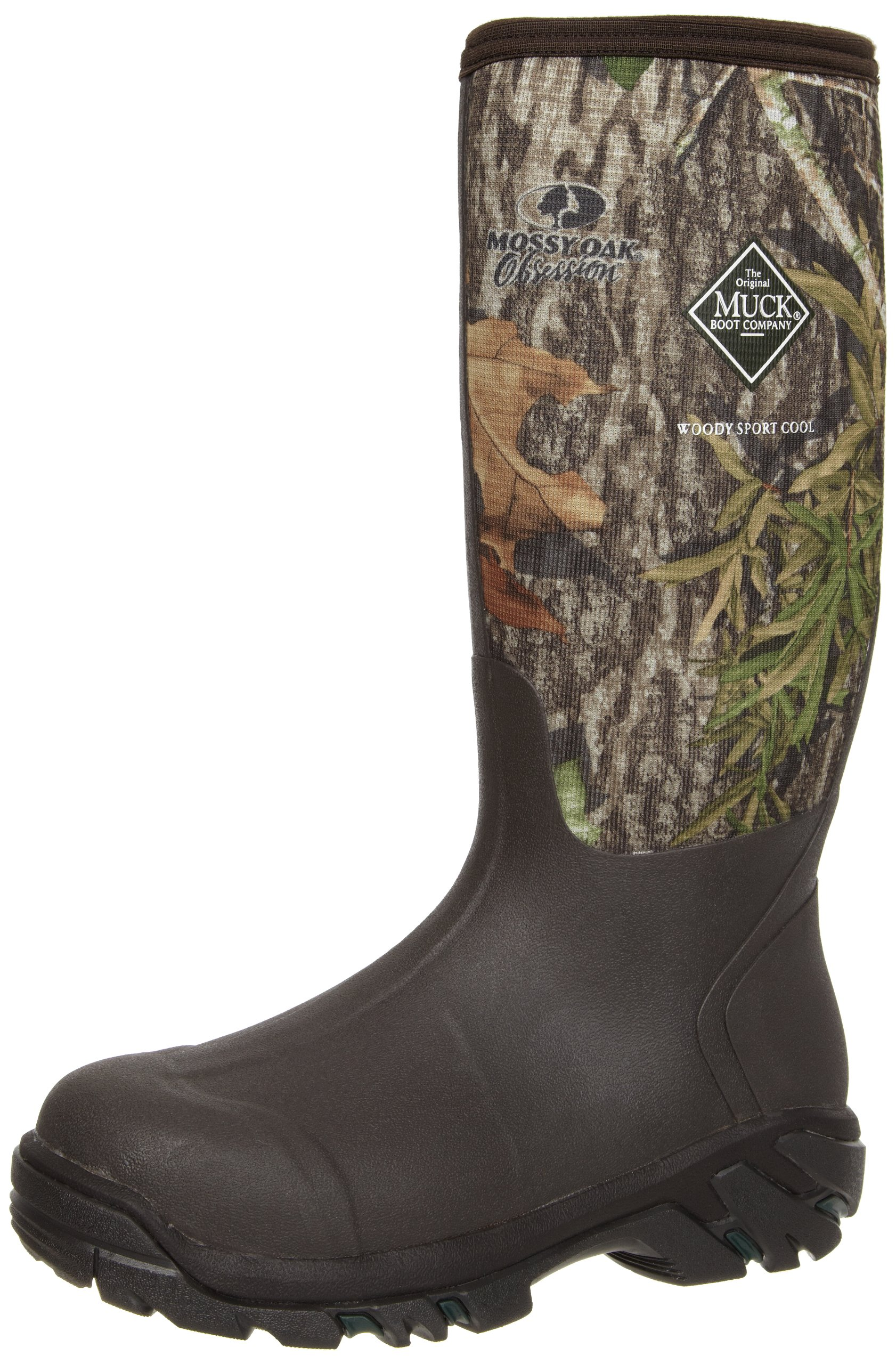 MuckBoots Woody Sport Cool Hunting Boot,Mossy Oak Obsession,11 M US Mens/12 M US Womens
