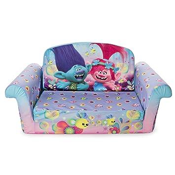 marshmallow furniture children s 2 in 1 flip open foam sofa rh amazon ca