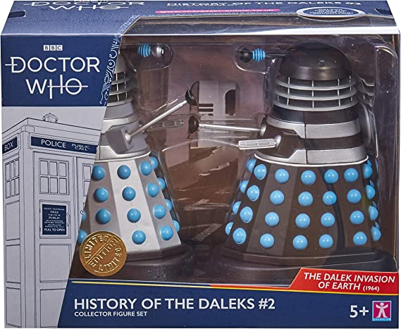 History of the Daleks Twin Pack Assortment #1 Doctor Who