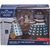 Doctor Who History of The Daleks #2 - The Dalek Invasion of Earth Collector Set - Dr Who Season 2 Dalek Action Figures…