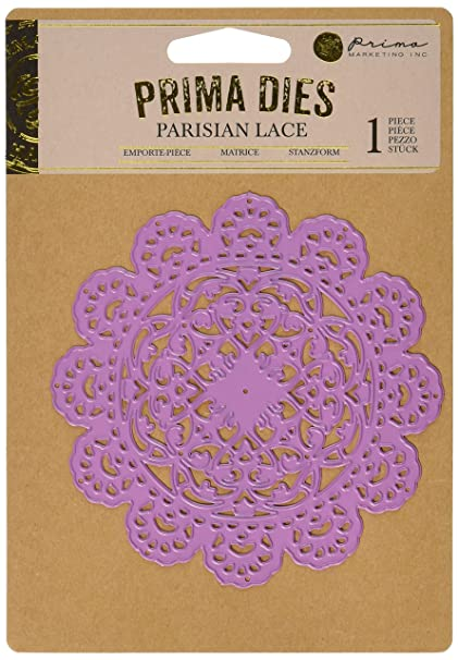 Amazon Prima Marketing 655350584047 Parisian Lace Scrapbooking Dies