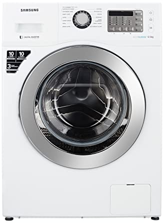 Samsung 6.5 kg Fully-Automatic Front Loading Washing Machine (WF652U2SHWQ, White)