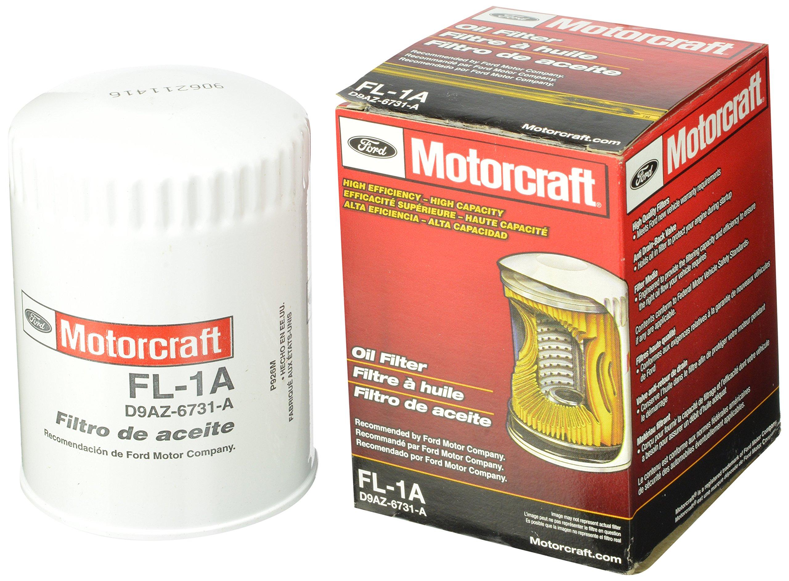 Motorcraft FL1A Oil Filter