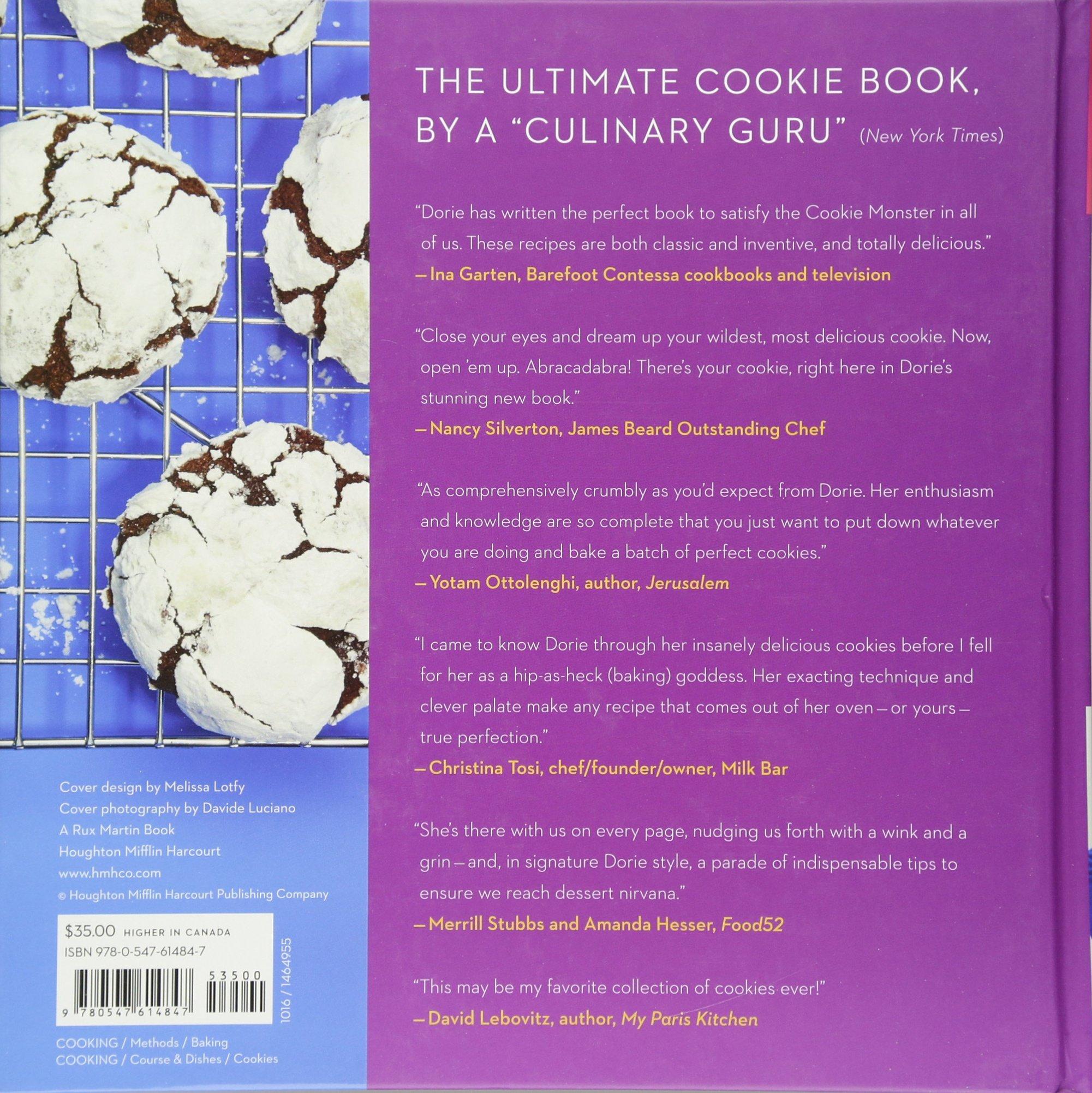 Dorie's Cookies: Dorie Greenspan, Davide Luciano: 9780547614847:  Amazon: Books