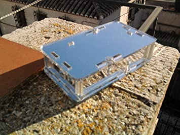 Caja de metacrilato espejo para Upconverter board: Amazon.es: Electrónica