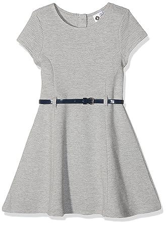 98471ba90db51 Z Robe Tricot Grise Robe Fille Gris (Gris Clair Chiné) 4 Ans (Taille  Fabricant  4A) Lot de  Amazon.fr  Vêtements et accessoires