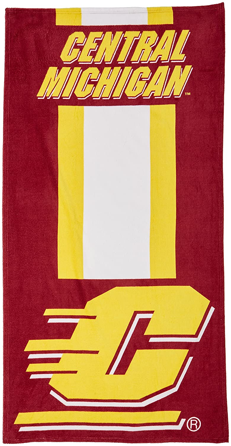 One Size The Northwest Company NCAA Central Michigan Beach Towel Multicolor