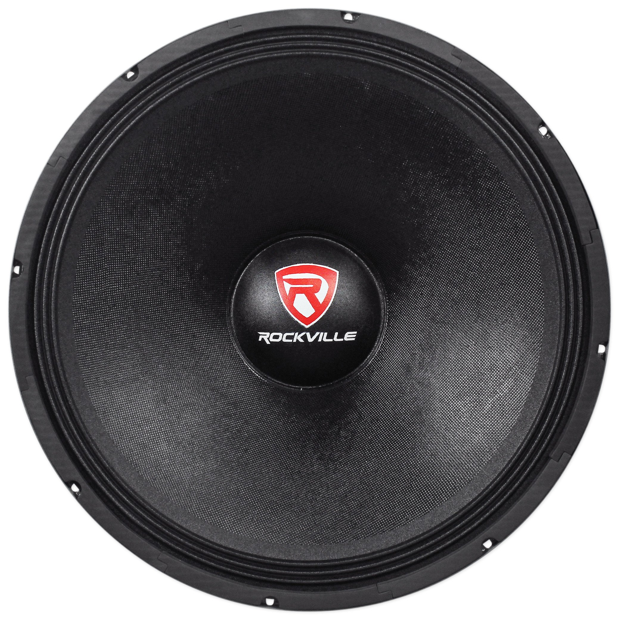 Rockville RVW1800P4 1800w 18'' Raw DJ Subwoofer 4 Ohm Sub Woofer 240OZ Magnet by Rockville