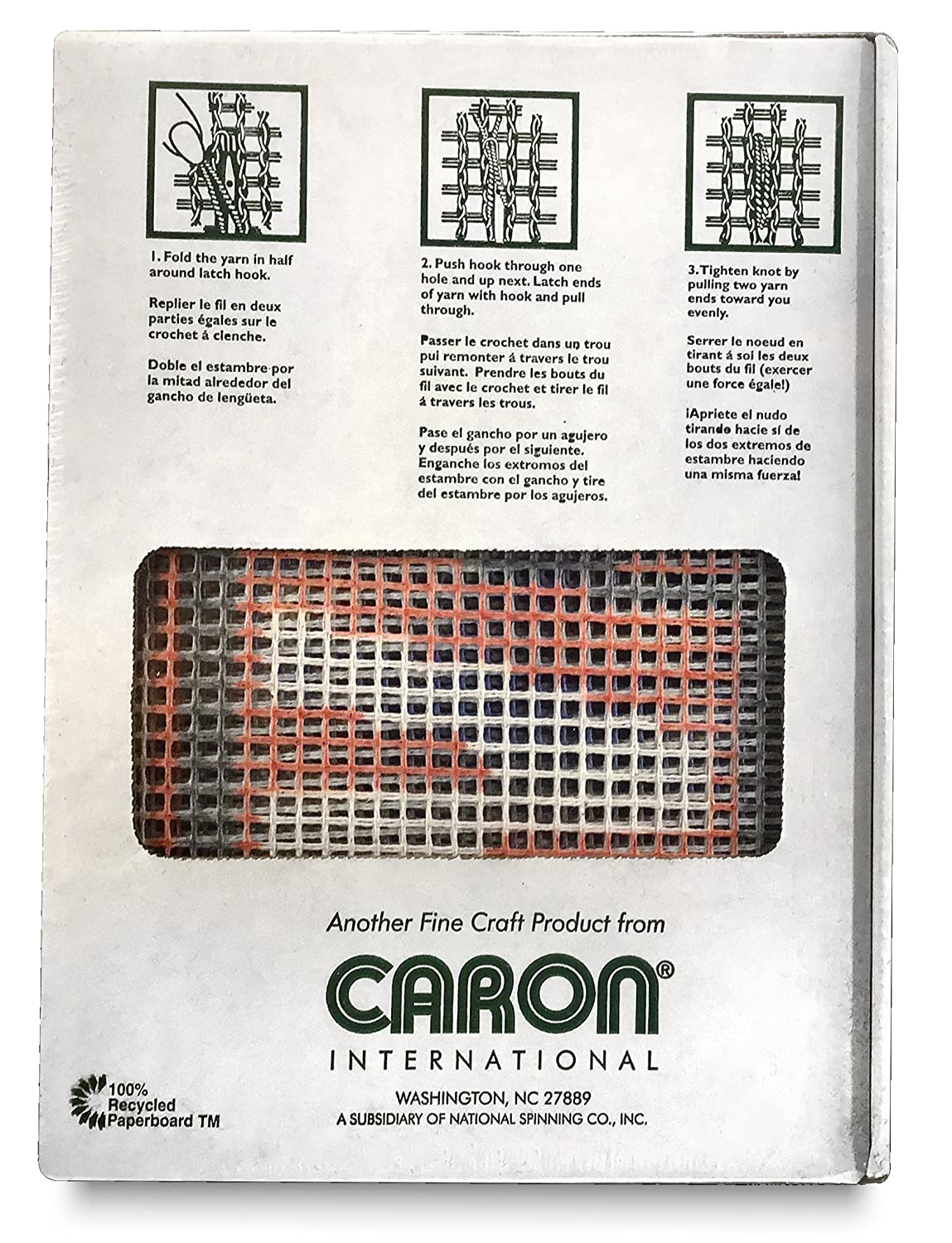 CARON NASCAR LATCH HOOK RUG KIT 20 X 30 #NC 5504