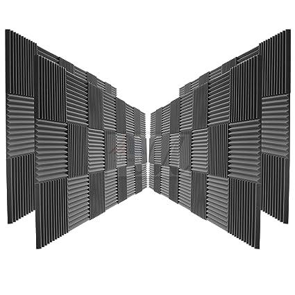 """96 unidades paneles acústica Studio espuma cuñas 2 """"x ..."""