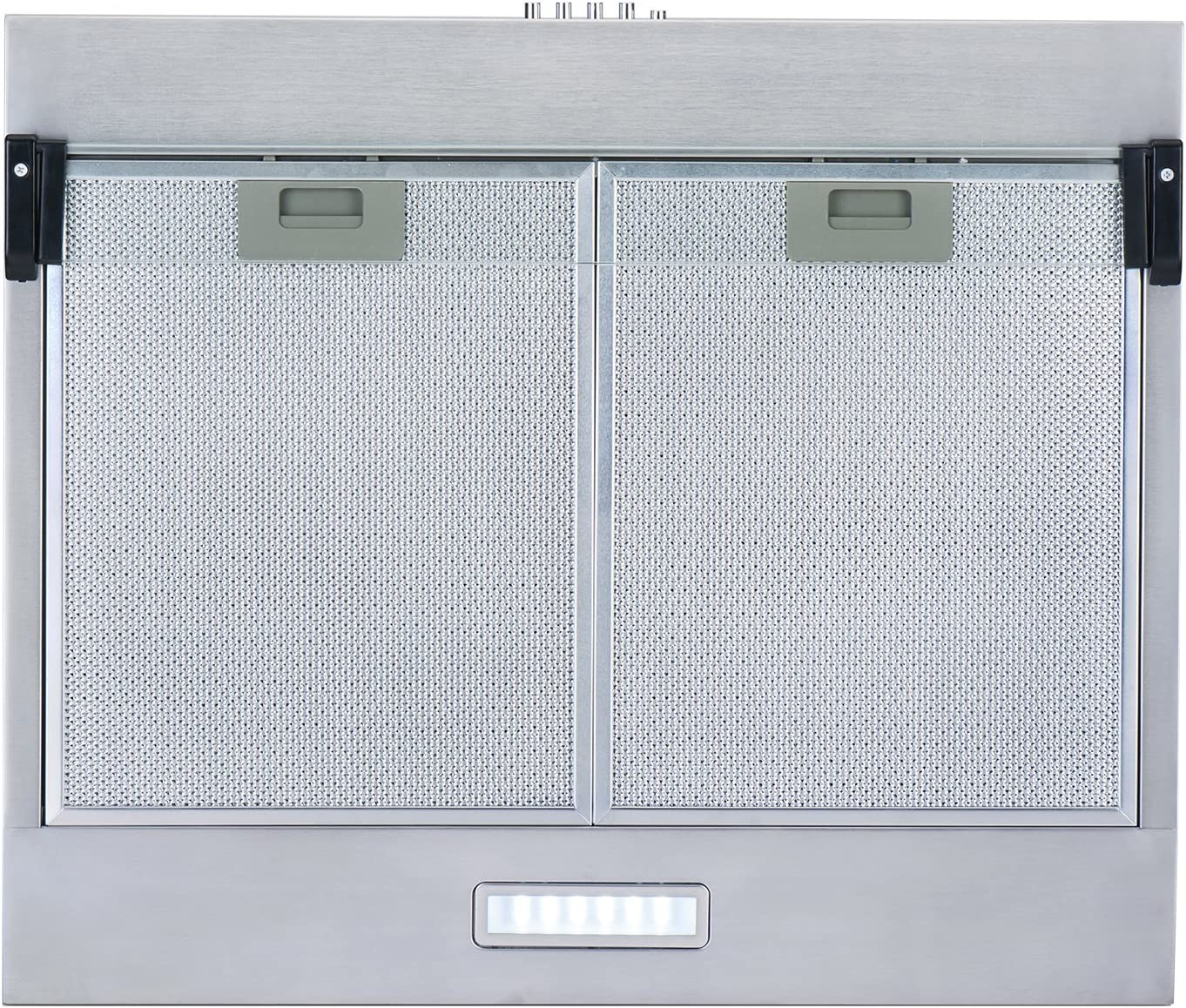 NEG NEG15 – Campana extractora de humos de AT + (doble motor) plata: Amazon.es: Grandes electrodomésticos