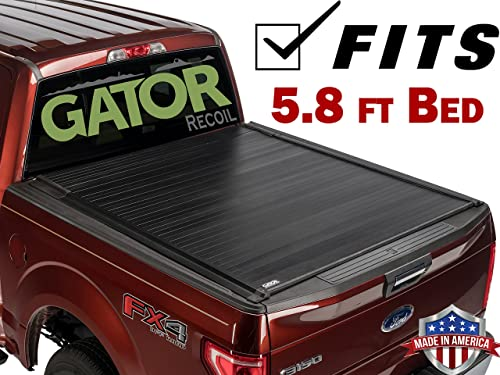 Gator 2014-2018 Chevy Silverado GMC Sierra 5.8 FT. Retractable Tonneau