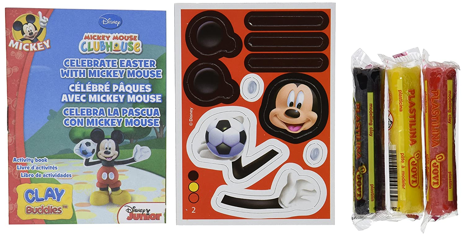 Giromax Mickey Mouse Clubhouse Blister Clay Buddies Pack