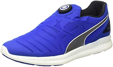 PUMA Men's Evospeed Sneakers (7, Blue/Yellow)