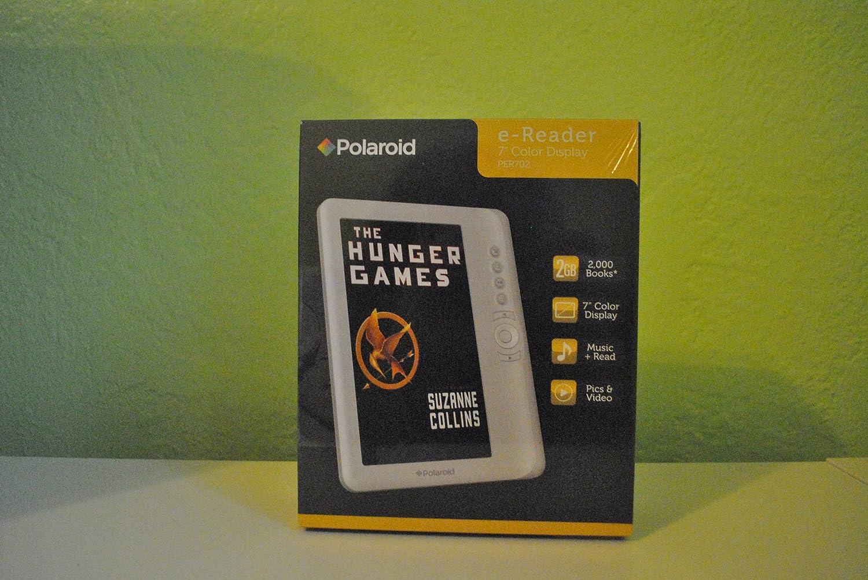 Amazon com polaroid e reader 7 color display books music pictures videos 2gb electronics