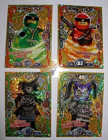 LE2 Spinjitzu Meister Kai LEGO Ninjago Serie 3 Trading Card Game