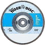 Weiler Tiger Abrasive Flap Disc, Type 29, Threaded