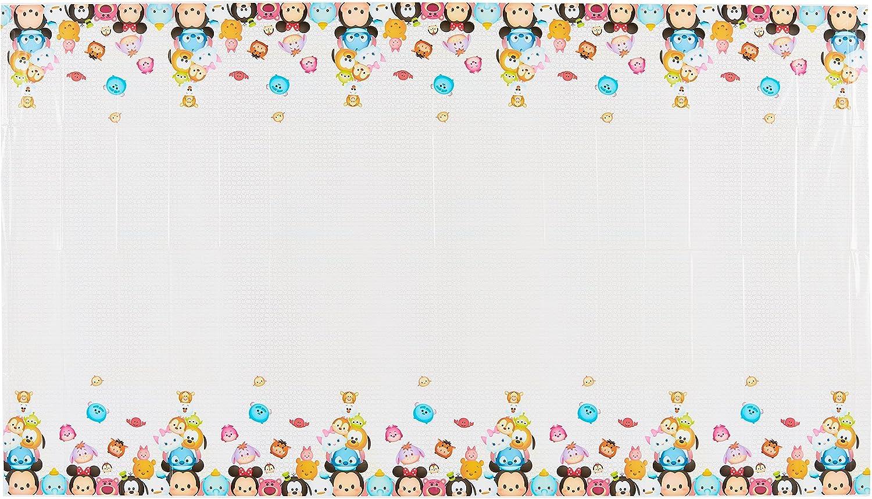 """American Greetings Tsum Tsum Plastic Table Cover, 54"""" x 96"""""""