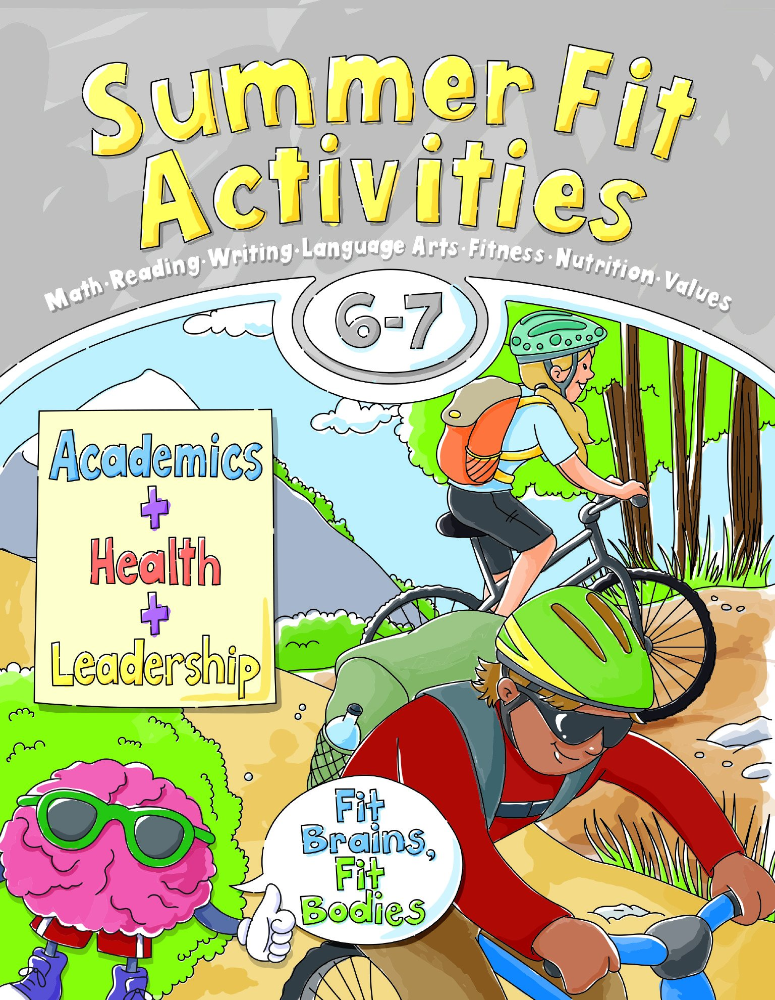 Download Summer Fit, Sixth - Seventh Grade (Summer Fit-preparing Children Mentally-physically-socially) pdf