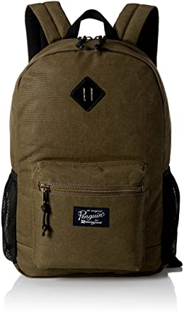2c733e9d8b66 Original Penguin Men s Waxed Canvas Backpack