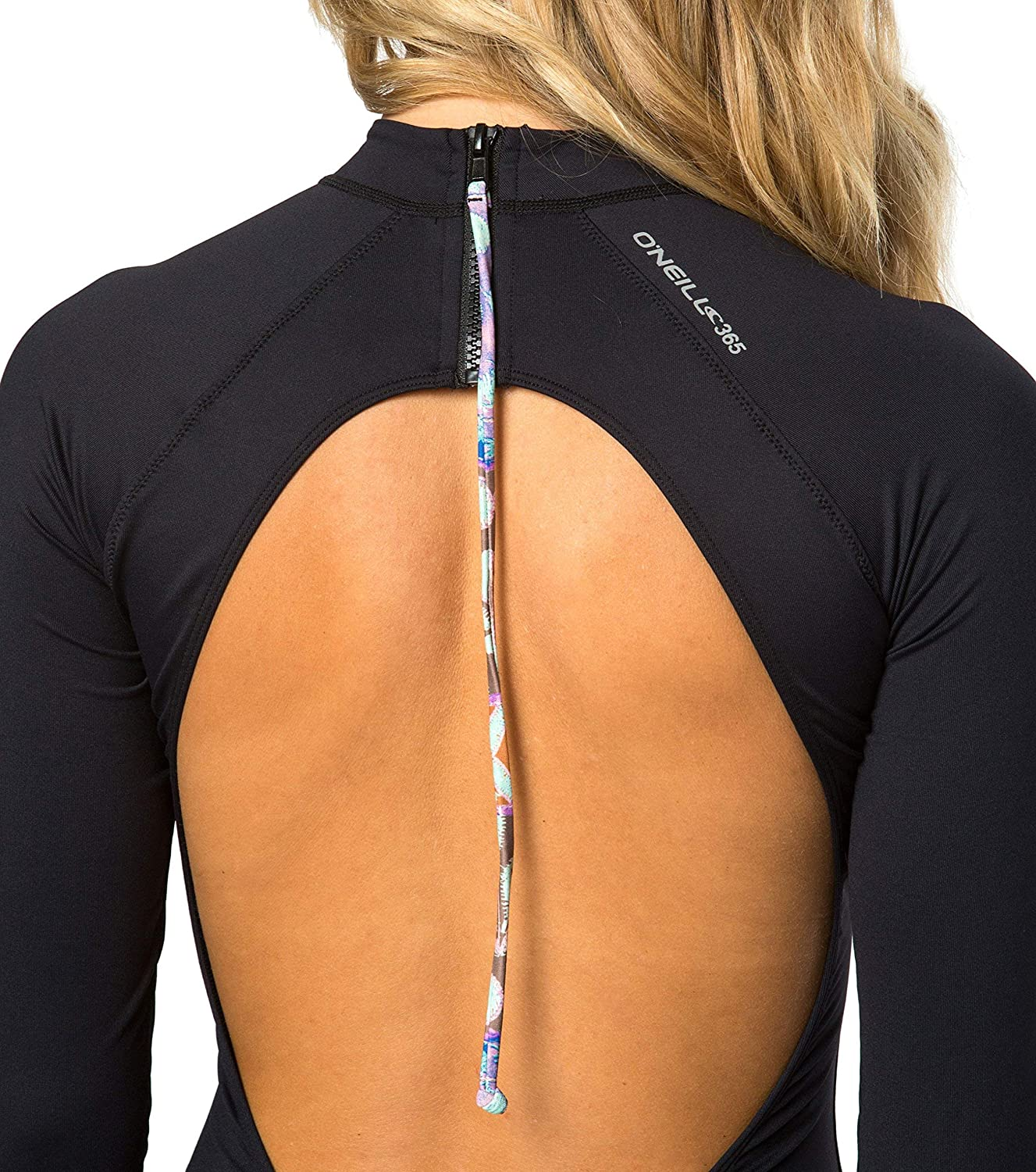 ONeill Womens 50 UV Protection Surf Suit Rash Guard