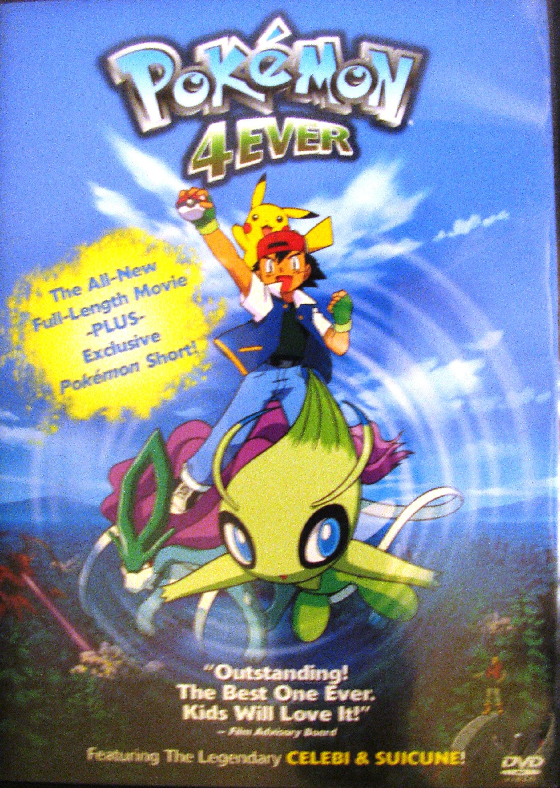 Pokemon 4ever Pokemon Ddwd 29174 9780788843266 Amazon Com Books