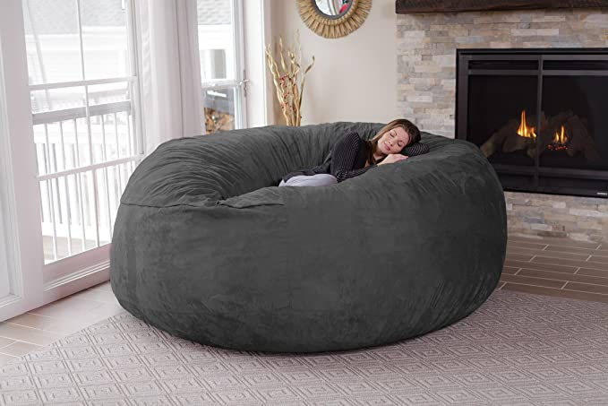 Giant Memory Foam Furniture Bean Bag