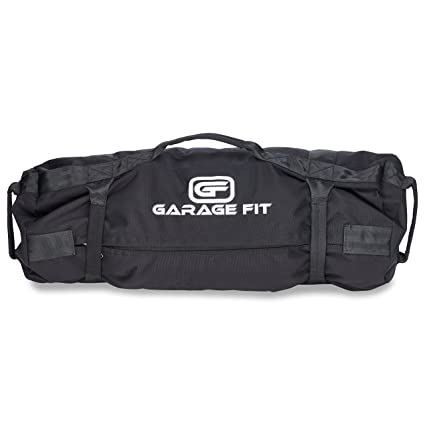 f47958524f Garage Fit Heavy Duty Workout Sandbags with Fabric Handle for Fitness