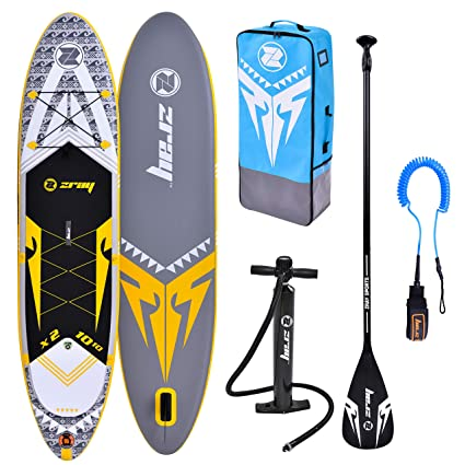 Amazon.com: Zray X-Rider Deluxe Inflatable Stand Up Paddle ...