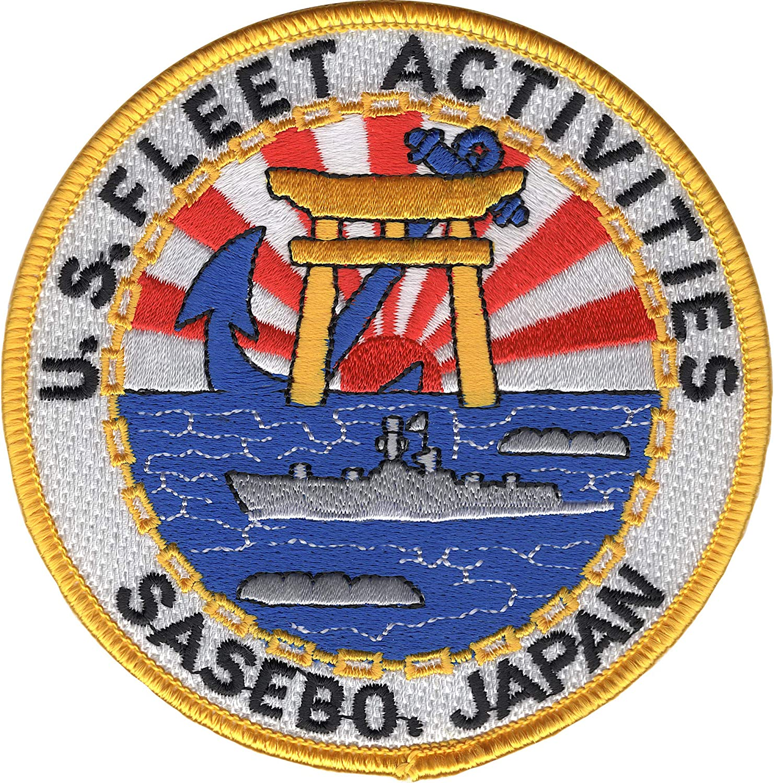 US Naval Fleet Activities Sasebo, Japan Patch