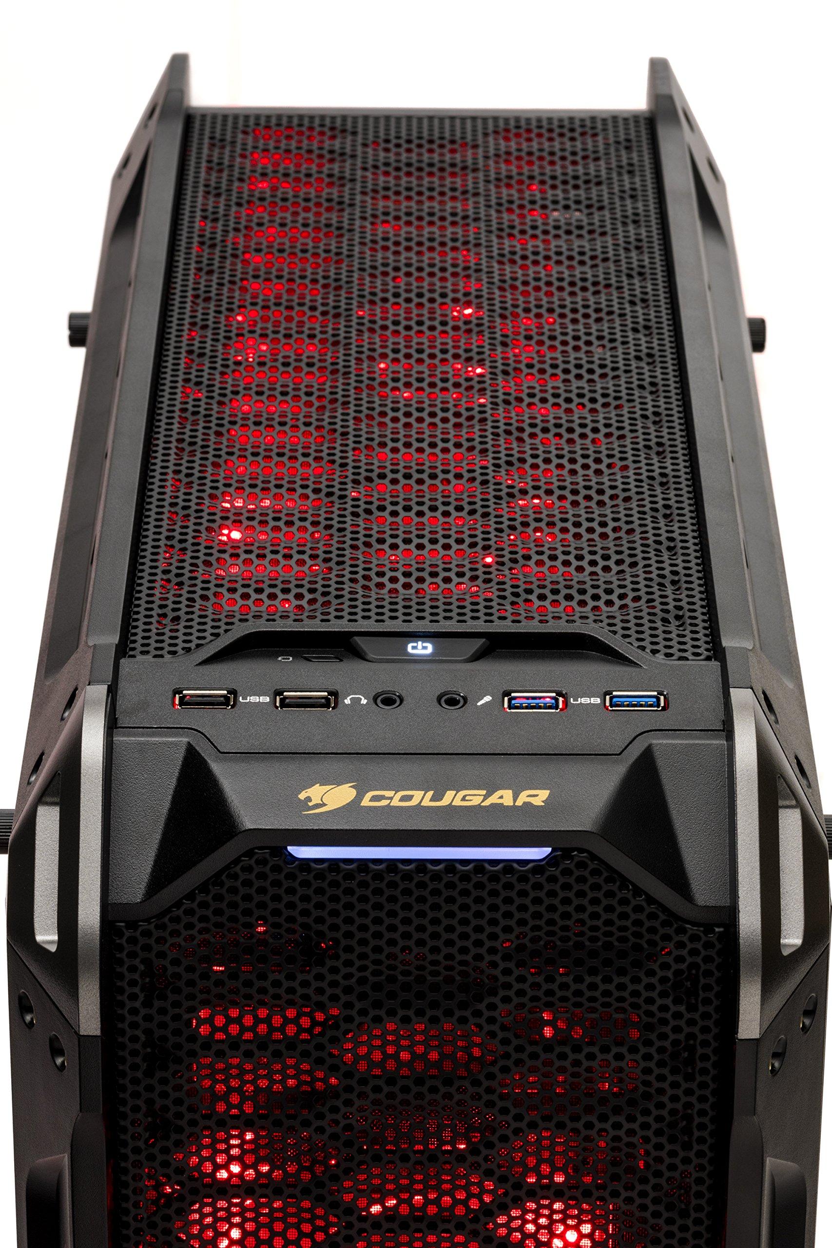 SkyTech Siege - Gaming Computer PC Desktop - RYZEN 7 1700X, Samsung 850 EVO 250GB SSD, GTX 1080 8GB, 120mm Liquid Cool, 2TB HDD, 16GB DDR4, Windows 10 Home (Ryzen 7 1700X | GTX 1080) by Skytech Gaming (Image #5)